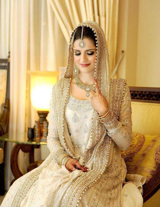 Beautiful wedding dresses of pakistan pictures