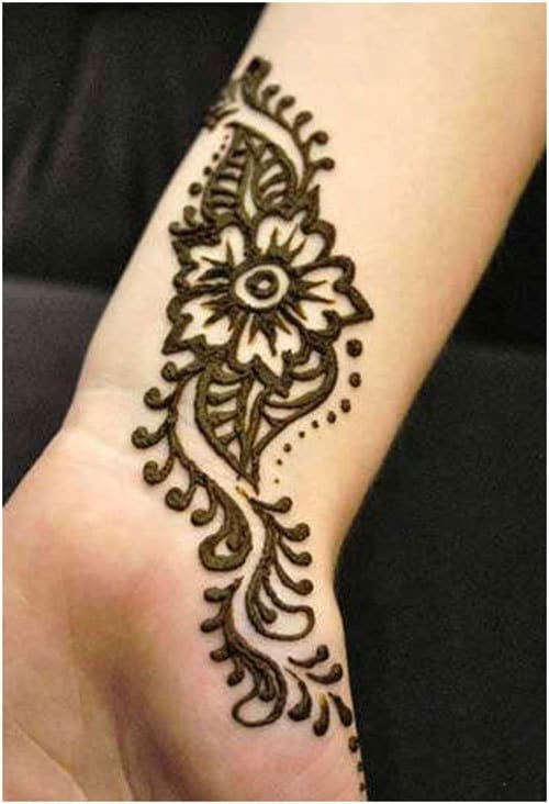 Simple Henna Wrist Designs For Beginners: Simple Arabic Mehndi Designs For Hands & Feet 2016