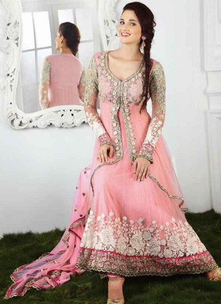 Descent Engagement Dresses for Pakistani / Indian Girls 2015