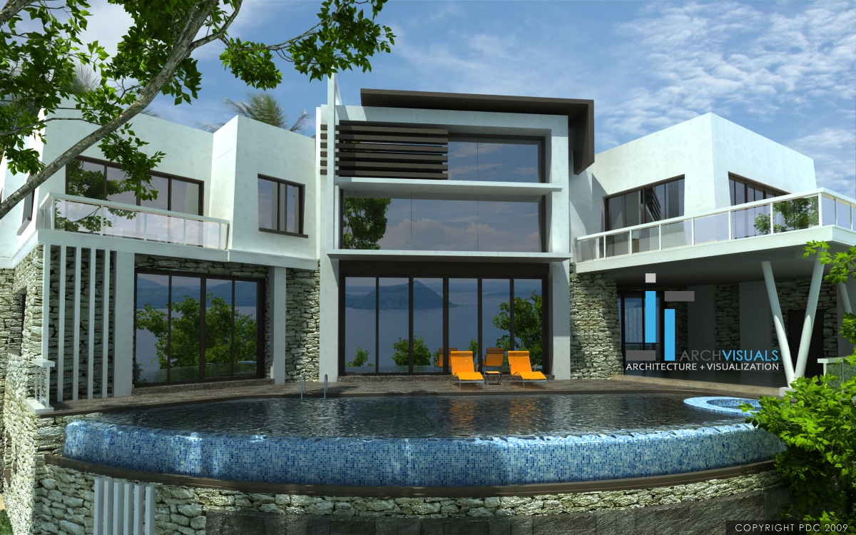 Top ten modern house designs 2016 for Best modern villa designs