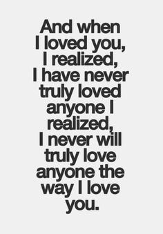 I Wish You Loved Me Quotes