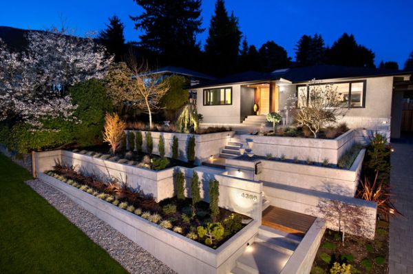 Landscaping Lighting Ideas For Front Yard :  frontyardlandscapingideasonabudgetwithfrontyardflowergarden