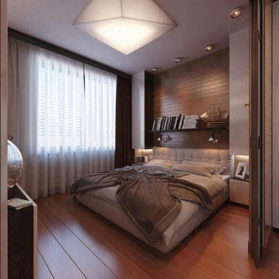 modern bedroom design ideas for small bedrooms - Small Modern Bedroom Design Ideas
