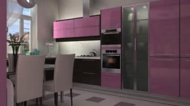 What is the best color of small Kitchen