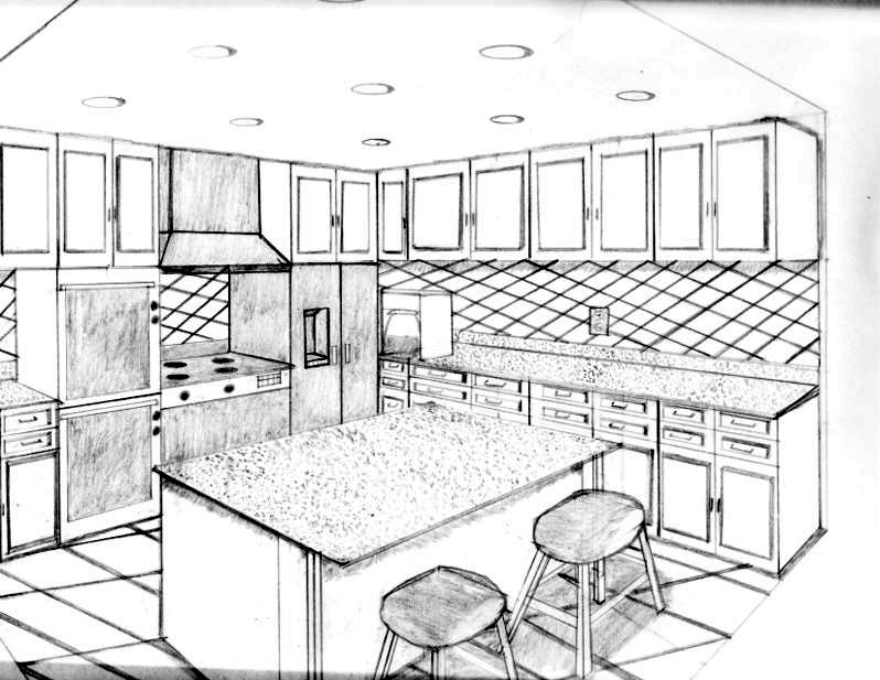 Modern kitchen designs and layouts 2015 for Planning a kitchen layout