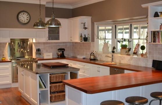 Modern kitchen designs and layouts 2015 for Country kitchen designs layouts