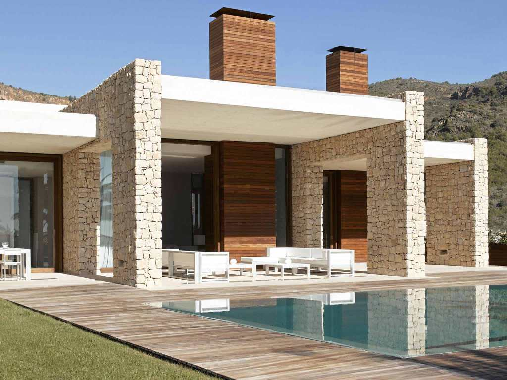 Modern house designs with swimming pool