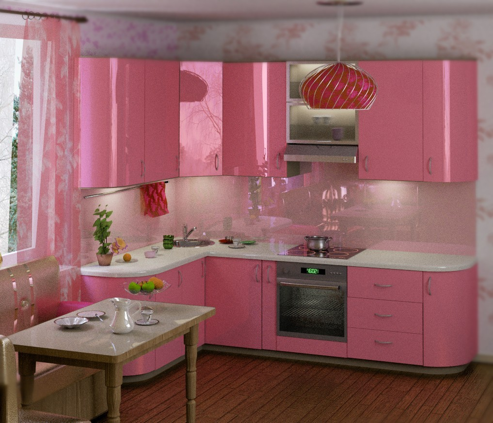 Pink Kitchen Small Pink Kitchen Quicuacom