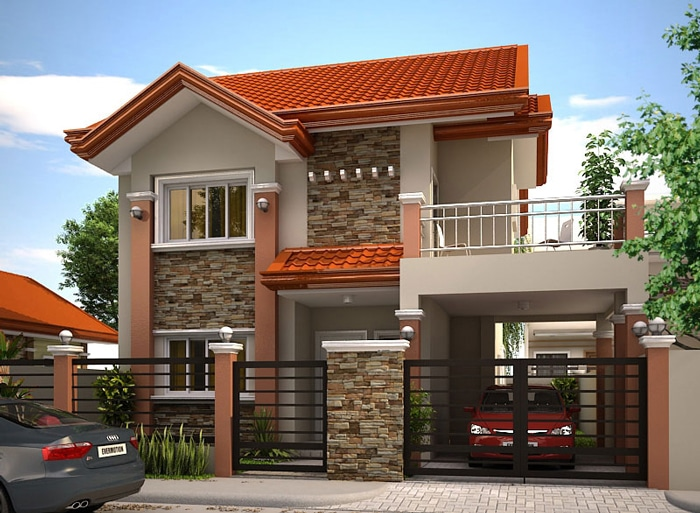 single story modern house designs