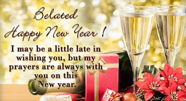 Belated Happy New Year 2014 HD Wallpapers Greetings Free Download