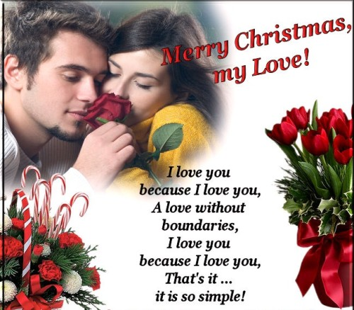 Christmas-cute-Love Quotes for her