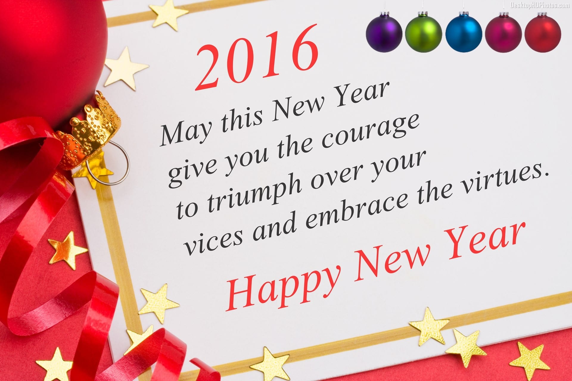 Happy New Year 2016 Quotes, Wishes, Message & SMS