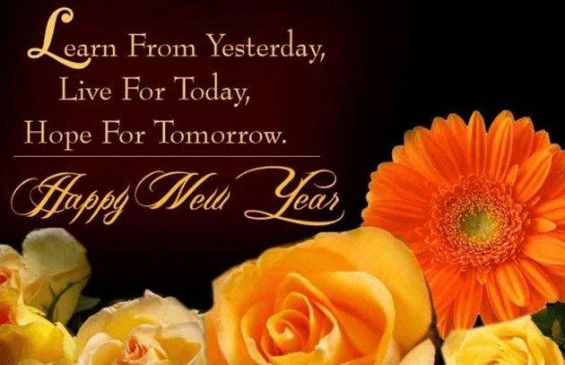 Happy New Year Wishing Romantic Quotes 2016