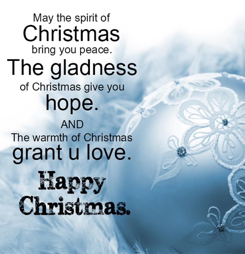 Merry Christmas Quotes for Cards, Sayings for Friends and ...
