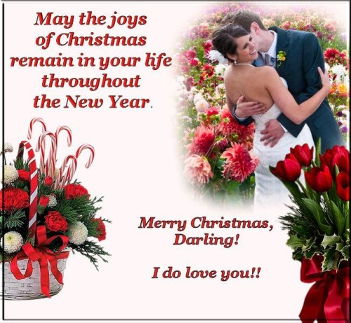 Christmas Romantic Picture Quotes. U201c
