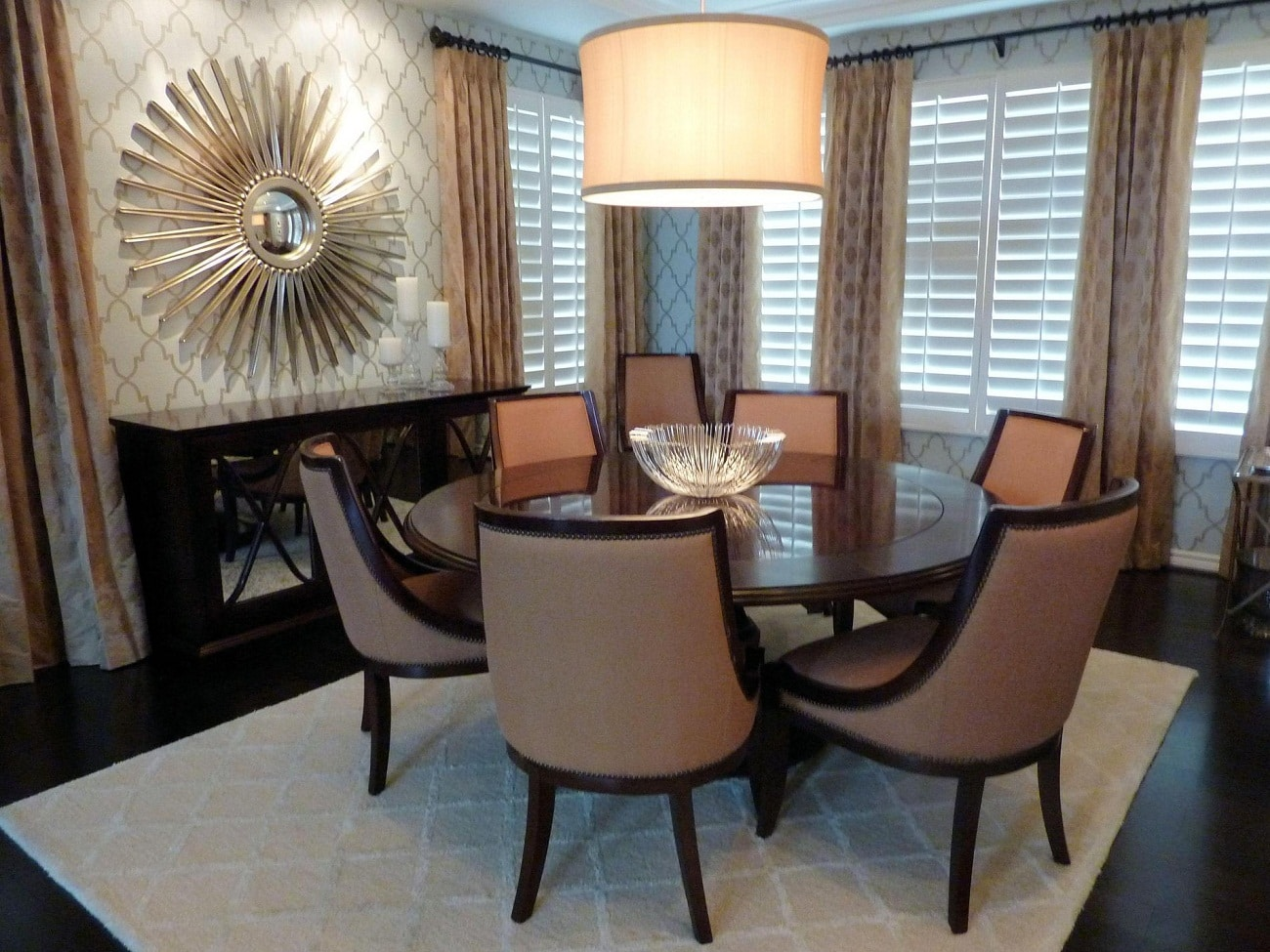 Home decor dining room ideas living room decor ideas for Large dining room decorating ideas