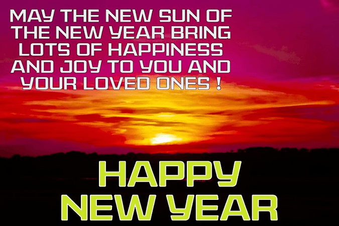 happy new year sms hd images