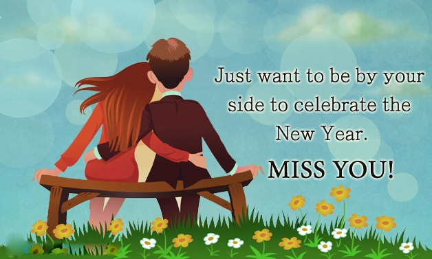 Happy New year 2016 Romantic Wishes for Husband/BoyFriend Wallpapers and Images