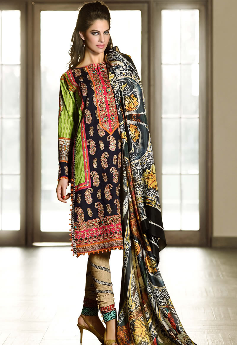 Winter Dresses 2016 In Pakistan