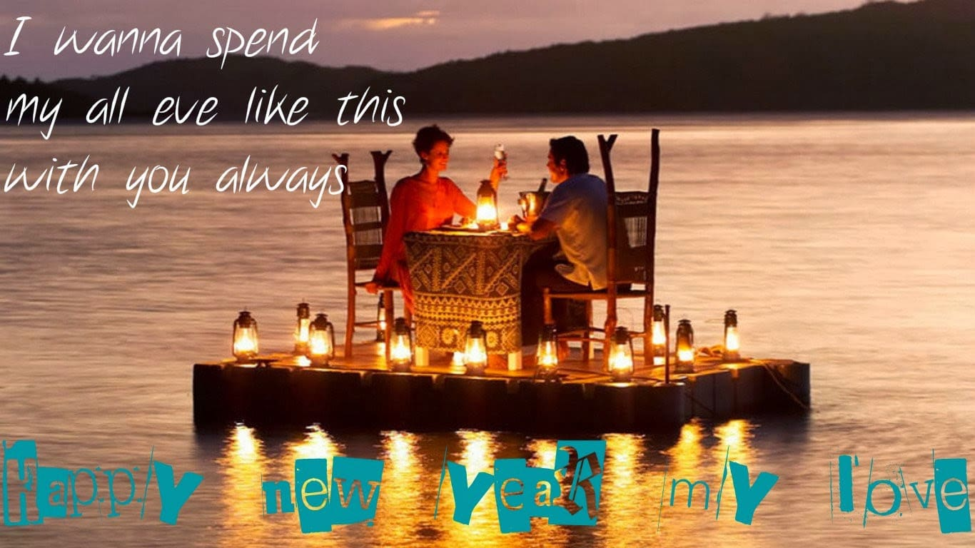 Happy New year 2016 Wishes for Husband/BoyFriend Wallpapers and Images